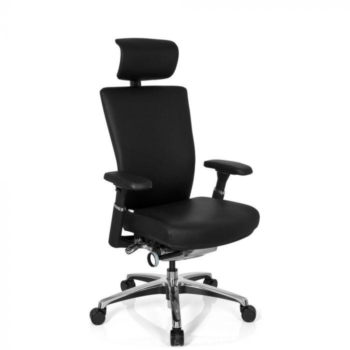 NOVA | Pelle - Sedia da ufficio professionale